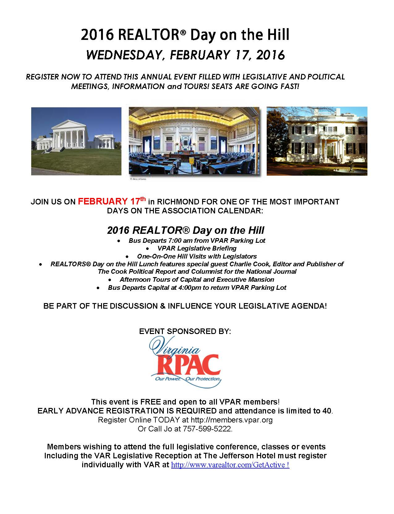 VPAR REALTOR DAY Marketing Piece