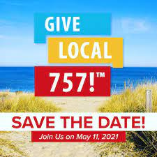 Tuesday, May11th is the GIVE LOCAL757 challenge – Help our Charitable Foundation!