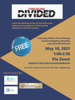 LONG ISLAND DIVIDED – A FAMOUS FAIR HOUSING INVESTIGATION – Free To Members