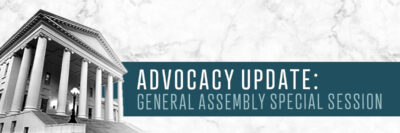 2021 General Assembly Special Session Update